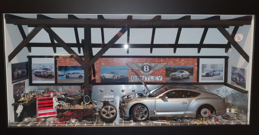 Car Display Box – Bentley GT Continental