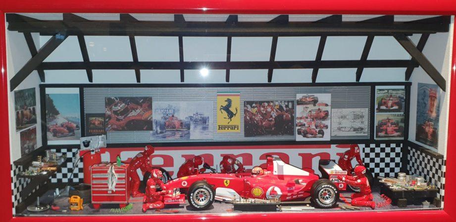 Car Display Box – Ferrari F1 F2004 Micheal Schumacher