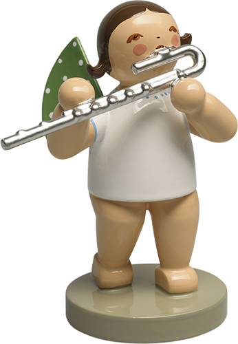 Angel With Bass Flute