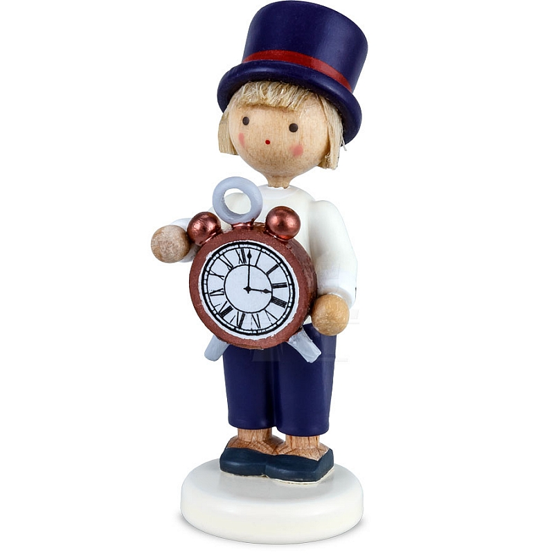 Boy With Clock