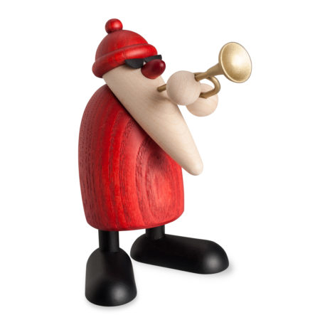 Santa Playing The Trumpet